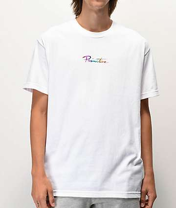 Primitive Nuevo Spectrum White T-Shirt