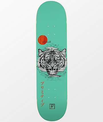 "Primitive O'Neill PJ Tiger 8.0"" Skateboard Deck"