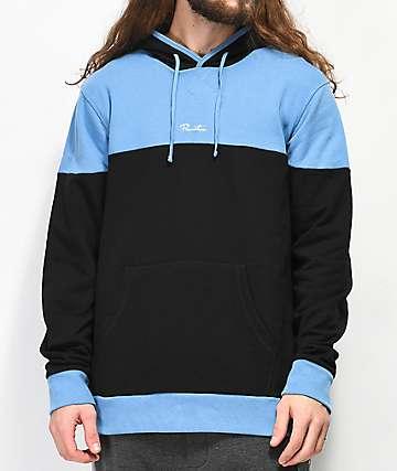 Primitive Pacer Blue & Black Hoodie