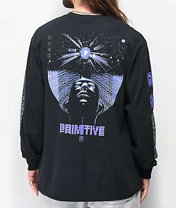 Primitive Reset Black Long Sleeve T-Shirt