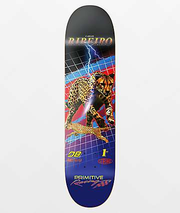 "Primitive Ribeiro Speed 8.0"" Skateboard Deck"