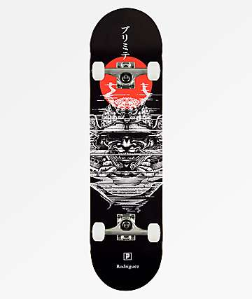 "Primitive Rodriguez Warrior 8.0"" Skateboard Complete"
