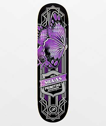 "Primitive Silvas Butterfly 8.25"" Skateboard Deck"