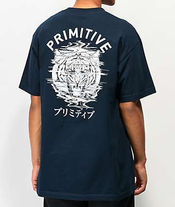 Primitive Tiger Navy T-Shirt
