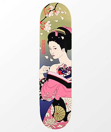 "Primitive Tucker Geisha 8.0"" Skateboard Deck"