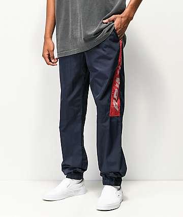 Primitive VX Navy & Red Track Pants
