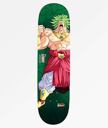 """Primitive x Dragon Ball Z  Lemos Broly Super Saiyan 8.5"""" Skateboard Deck"""