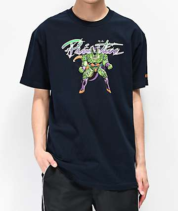 Primitive x Dragon Ball Z  Nuevo Cell Navy T-Shirt T-Shirt