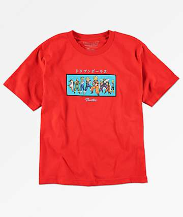 Primitive x Dragon Ball Z Boys Heroes Red T-Shirt