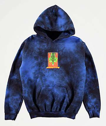 Primitive x Dragon Ball Z Boys Shenron Blue Wash Hoodie
