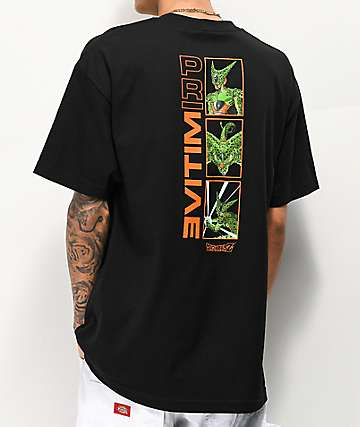 Primitive x Dragon Ball Z Cell Forms Black T-Shirt