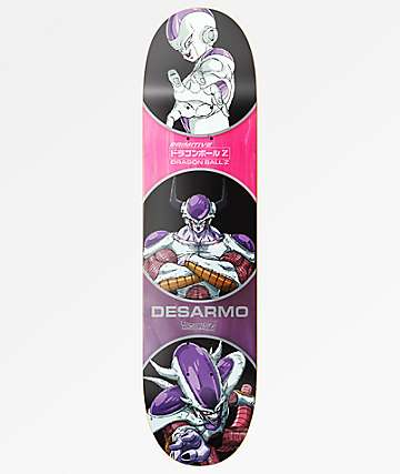 "Primitive x Dragon Ball Z DesArmo Frieza Forms 8.0"" Skateboard Deck"