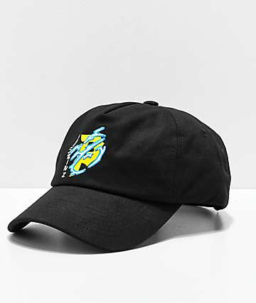 Primitive x Dragon Ball Z Dirty P Lightning Black Strapback Hat
