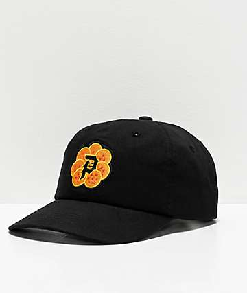 Primitive x Dragon Ball Z Dirty P Wish Black Strapback Hat