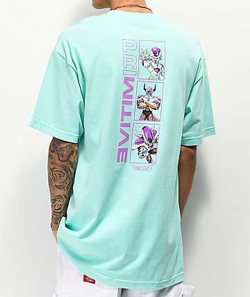 Primitive x Dragon Ball Z Frieza Forms Teal T-Shirt