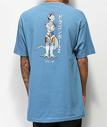 Primitive x Dragon Ball Z Frieza Mecha Slate Blue T-Shirt
