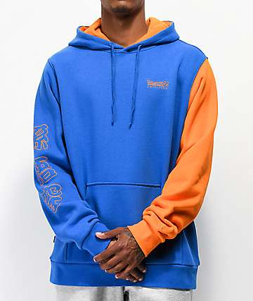 Primitive x Dragon Ball Z Goku Blue & Orange Hoodie