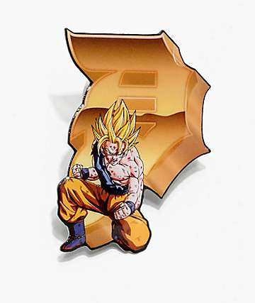 Primitive x Dragon Ball Z Goku Dirty P Pin