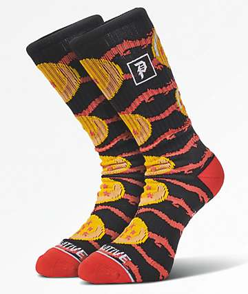 Primitive x Dragon Ball Z Jacquard Dragon Black Crew Socks