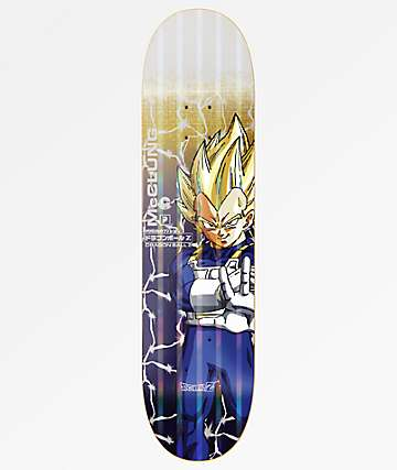 "Primitive x Dragon Ball Z McClung Vegeta Power Level 8.5"" Skateboard Deck"