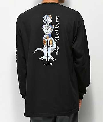 Primitive x Dragon Ball Z Mecha Frieza Black Long Sleeve T-Shirt