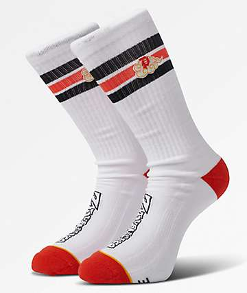 Primitive x Dragon Ball Z Nimbus White Crew Socks