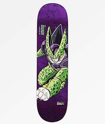 "Primitive x Dragon Ball Z Perfect Cell Tucker Reflective 8.25"" Skateboard Deck"