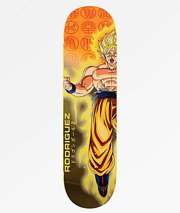 "Primitive x Dragon Ball Z Rodriguez Goku Power Up 8.25"" Skateboard Deck"
