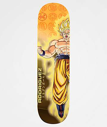 "Primitive x Dragon Ball Z Rodriguez Goku Power Up 8.38"" Skateboard Deck"