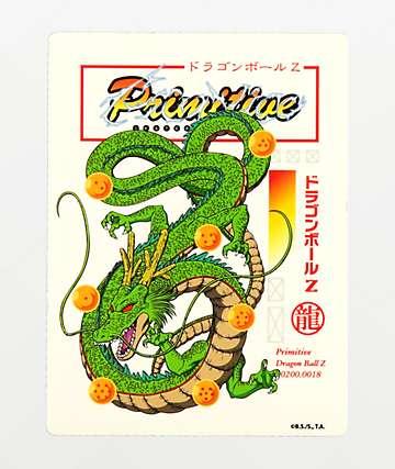 Primitive x Dragon Ball Z Shenron Club pegatina