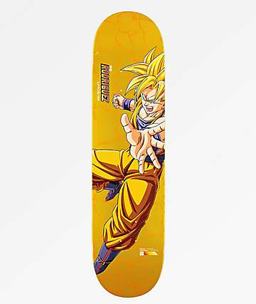 "Primitive x Dragon Ball Z Super Saiyan Goku P Rod Reflective 8.0"" Skateboard Deck"