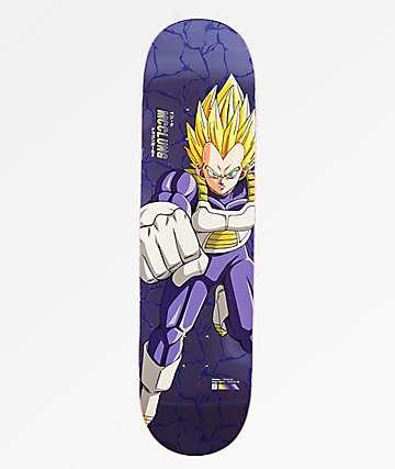 "Primitive x Dragon Ball Z Super Saiyan Vegeta McClung Reflective 8.25"" Skateboard Deck"