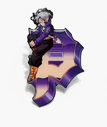 Primitive x Dragon Ball Z Trunks Dirty P Pin