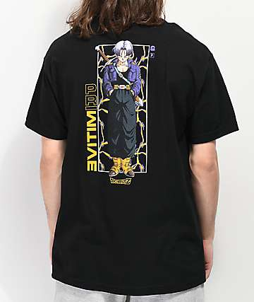 Primitive x Dragon Ball Z Trunks Glow Black T-Shirt