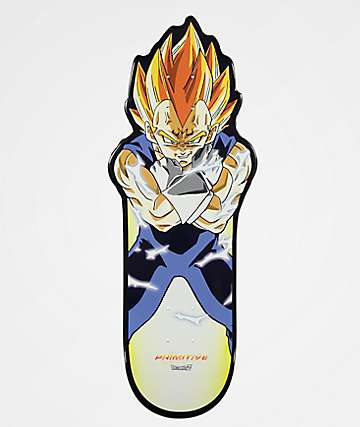 "Primitive x Dragon Ball Z Vegeta 10.0"" Skateboard Deck"