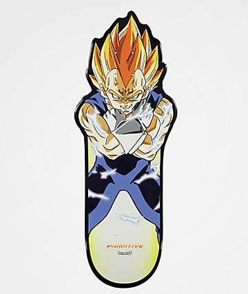 """Primitive x Dragon Ball Z Vegeta 10.0"""" tabla de skate"""