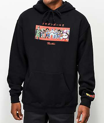 Primitive x Dragon Ball Z Villains Black Hoodie
