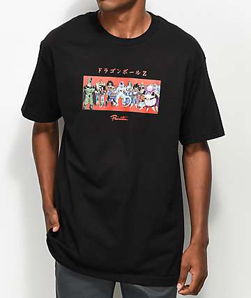 Primitive x Dragon Ball Z Villains Black T-Shirt