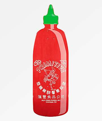 "Primitive x Huy Fong Bottle 10"" Cruiser Skateboard Deck"