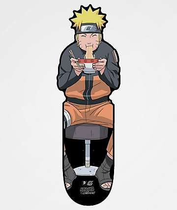 "Primitive x Naruto Ramen CNC 10.0"" tabla de cruiser"