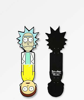 "Primitive x Rick and Morty CNC 9.75"" Cruiser Deck"