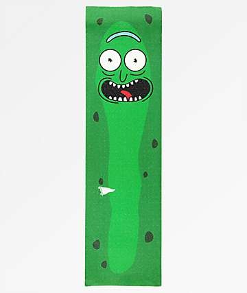 Primitive x Rick and Morty Pickle Rick Grip Tape