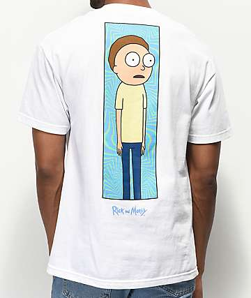 Primitive x Rick and Morty Rick Vortex White T-Shirt