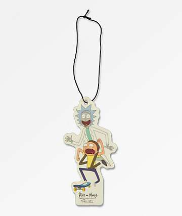 Primitive x Rick and Morty Skate Air Freshener