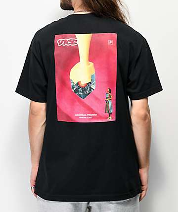 Primitive x Vice Magazine Audiovisual Black T-Shirt