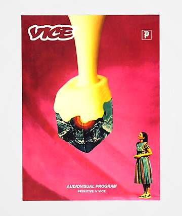 Primitive x Vice Magazine Sticker