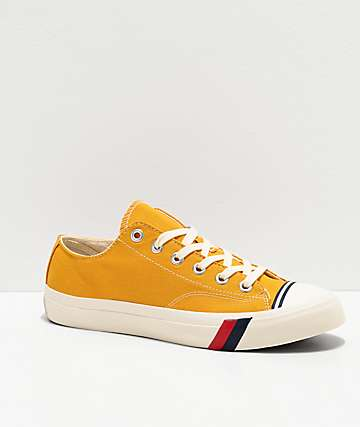 Pro-Keds Royal Low Mineral Yellow & White Shoes