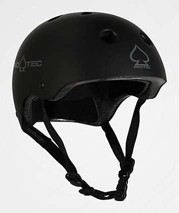 Pro-Tec CPSC Classic casco de skate negro mate