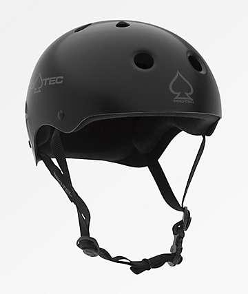 Pro-Tec casco de skate en negro mate