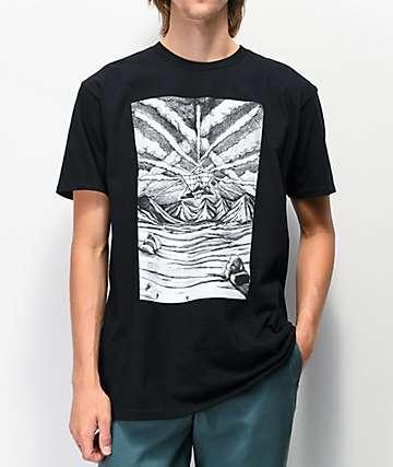 Pyramid Country Chemtrails II Black T-Shirt